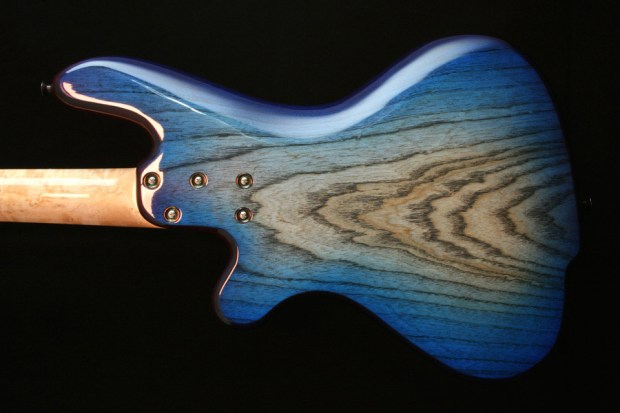 M-Tone Guitars Boki Bass - body back
