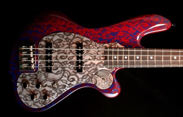 M-Tone Guitars Boki Bass - body
