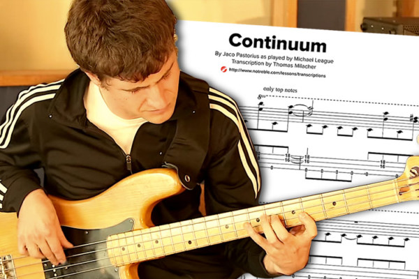 "Bass Transcription: Michael League's ""Continuum"""