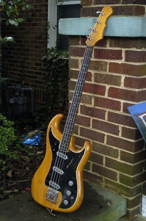 1960's Burns of London Baldwin Jazz Bass