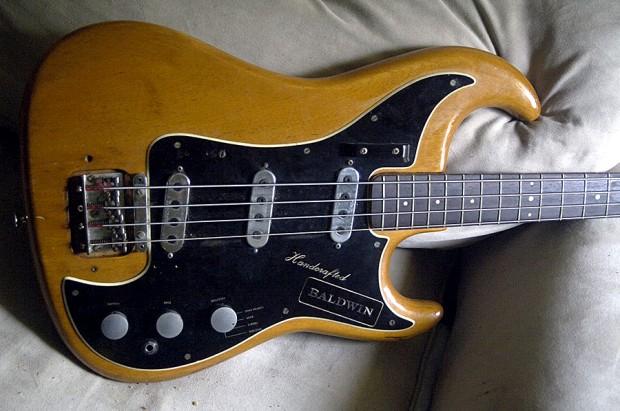 1960's Burns of London Baldwin Jazz Bass Body