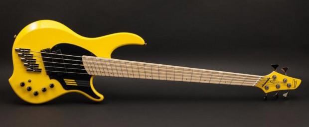 """Dingwall Adam """"Nolly"""" Getgood NG-2 Bass - Ferrari Yellow"""