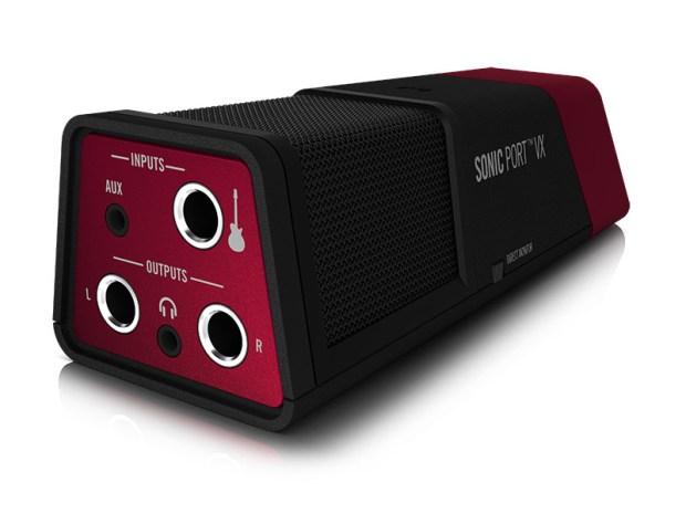 Line 6 Sonic Port VX Audio Interface side view