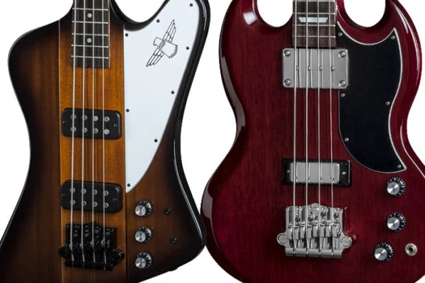 Gibson Updates Thunderbird and SG Standard Basses for 2015