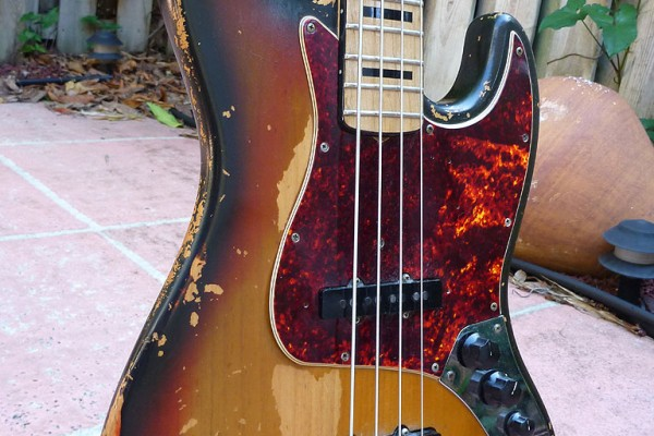 Old School: 1972 Fender Jazz Bass