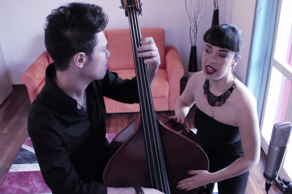 Simone Masina with Angelica Lubian: Always on the Run (Lenny Kravitz Cover)