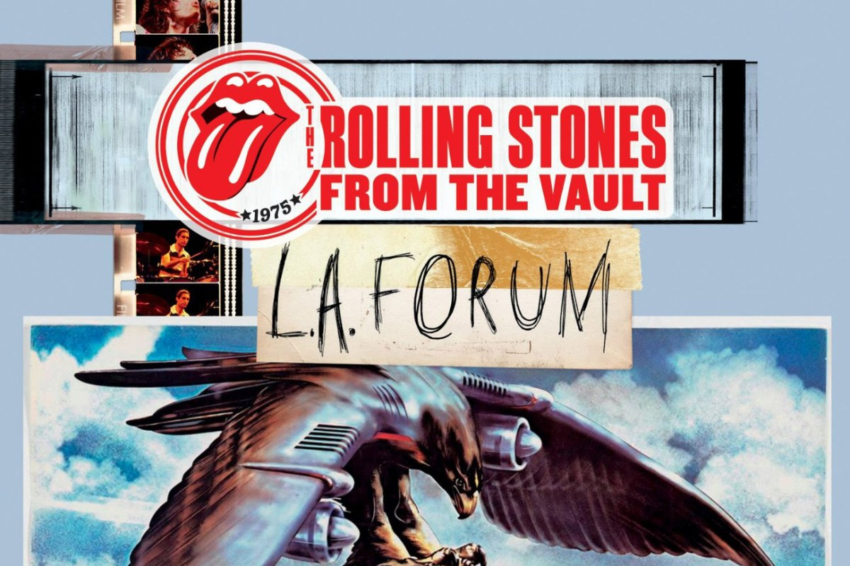 """1975 LA Forum Show Second in """"From The Vault"""" Releases from"""