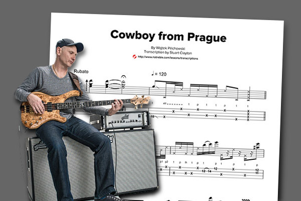"Bass Transcription: Wojtek Pilichowski's ""Cowboy from Prague"""