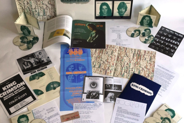 New Exhaustive 27-Disc Set Details the 1973/74 King Crimson Live Experience