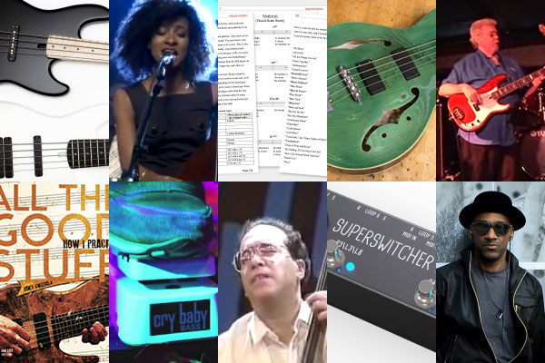 """Weekly Top 10: New Bass Gear, More On Harmonic Substitutions, """"Marcus"""" Doc, Top Bass Videos and More"""