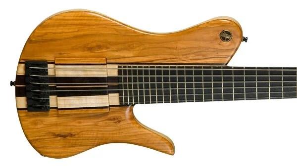 Bass of the Week: Neubauer Guitars Snow Owl Mazinger Contrabass Guitar