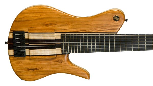 Bass of the Week: Neubauer Guitars Snow Owl Mazinger Contrabass Guitar