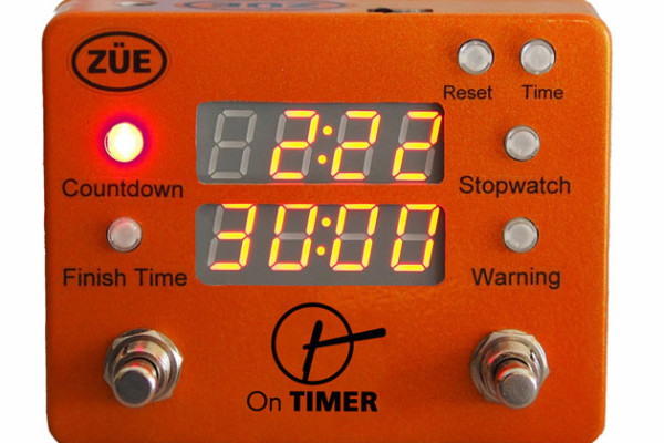 ZÜE Engineering Introduces the On Timer Pedalboard Clock