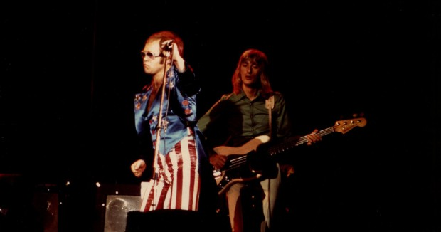 Dee Murray with Elton John