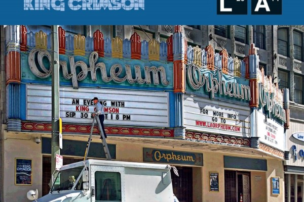 """King Crimson Releases """"Live at the Orpheum"""""""