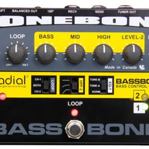 Radial Engineering Announces the Bassbone V2