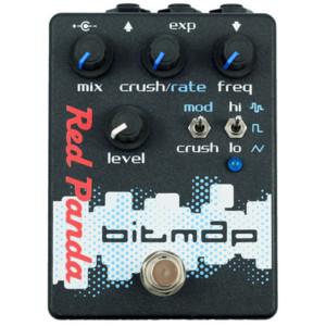 Red Panda Introduces Bitmap Bitcrusher Pedal