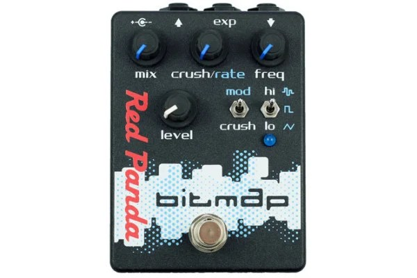 Red Panda Introduces Bitmap Bitcrusher Pedal