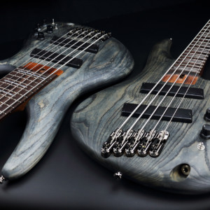 Ibanez Adds Fanned Fret SR Models to Bass Workshop Series