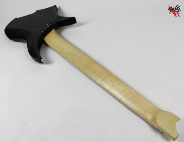 Negrini Guitars Fëanor JMS6 Back Angled