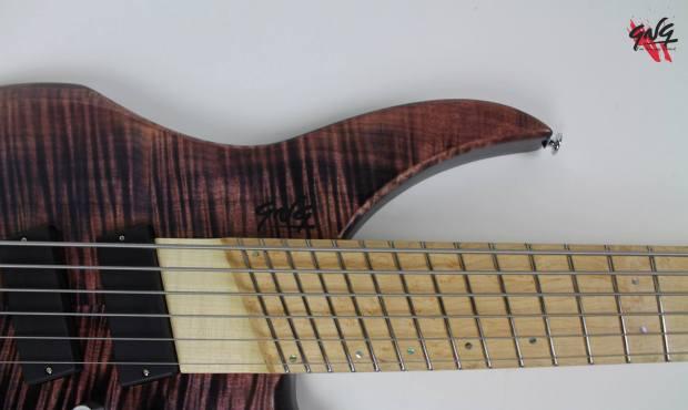 Negrini Guitars Fëanor JMS6 Upper Horn