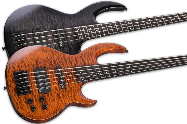 ESP Guitars Introduces Bunny Brunel Signature Basses