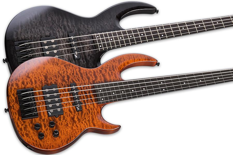esp guitars introduces bunny brunel signature basses no treble. Black Bedroom Furniture Sets. Home Design Ideas
