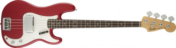 Fender Custom Shop 2015 Postmodern Precision Jazz Bass Red