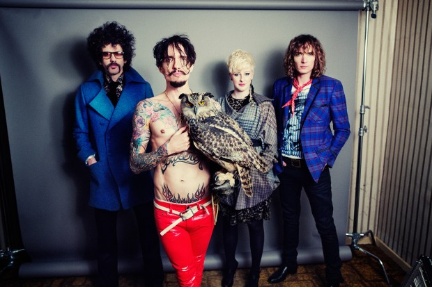 The Darkness - photo by Simon Emmett