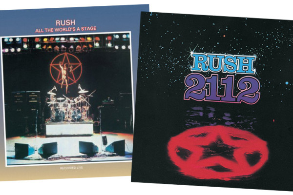 Two 1976 Rush Albums Reissued in Remastered Vinyl Editions
