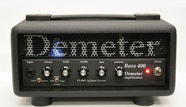Demeter Amplification Bass-400D Hybrid Bass Amp