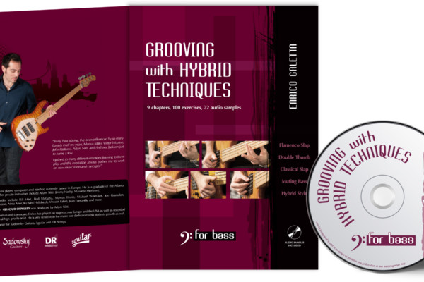 "Enrico Galetta Debuts as Bass Instruction Author with ""Grooving with Hybrid Techniques"""