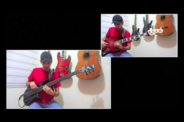 """Edson Barreto: """"The Long and Winding Road"""" Cover for Two Basses"""