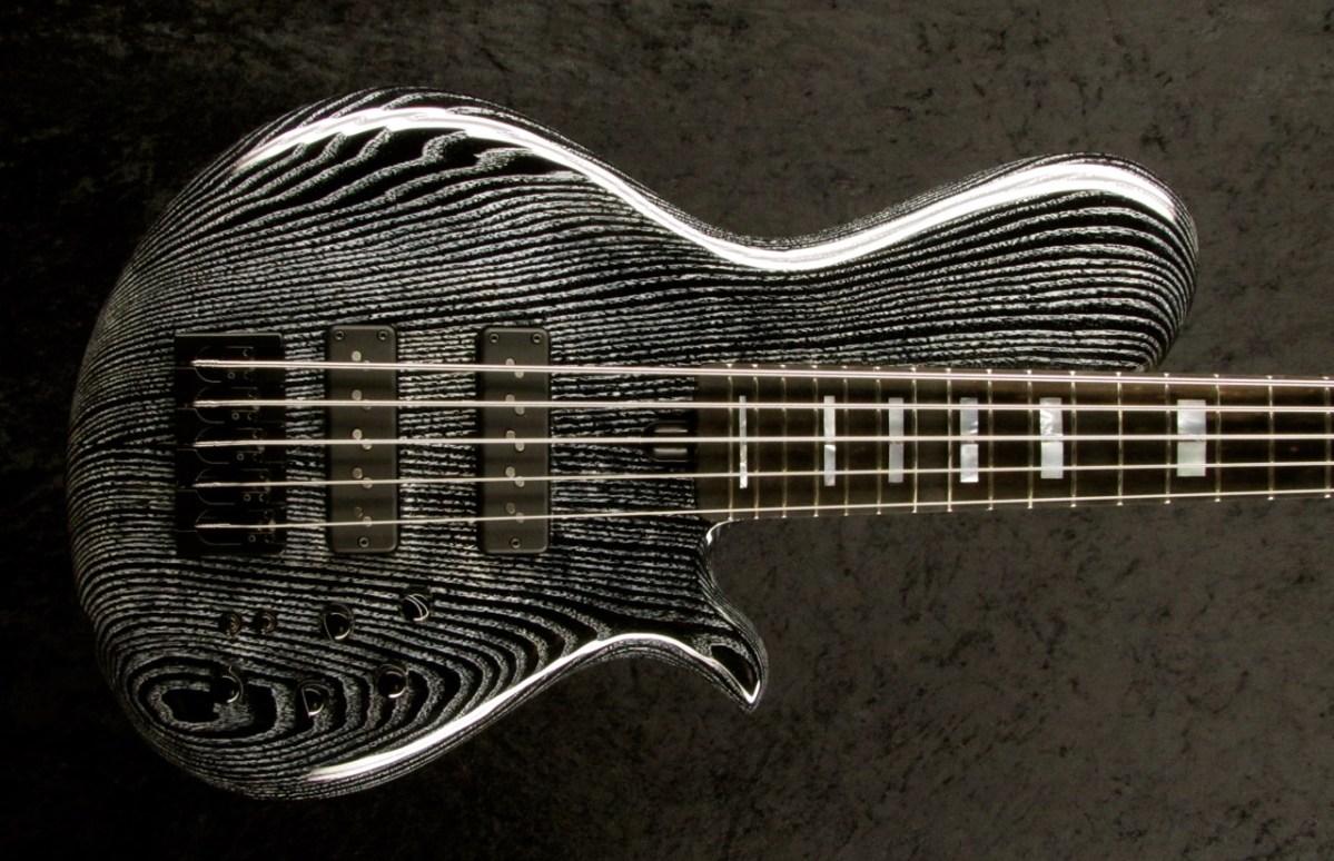 ledbelli bass guitars introduces jonah thin wing bass no treble. Black Bedroom Furniture Sets. Home Design Ideas