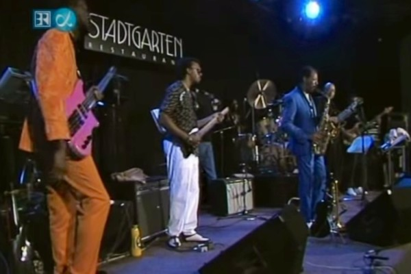 """Ornette Coleman & Prime Time Band: """"Story Tellers"""" and """"Latin Genetics"""", live 1987"""