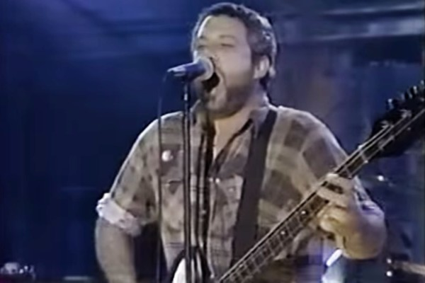 Mike Watt with Eddie Vedder, Dave Grohl, & Pat Smear: Big Train