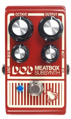 DigiTech DOD Meatbox Subharmonic Bass Synthesizer Pedal