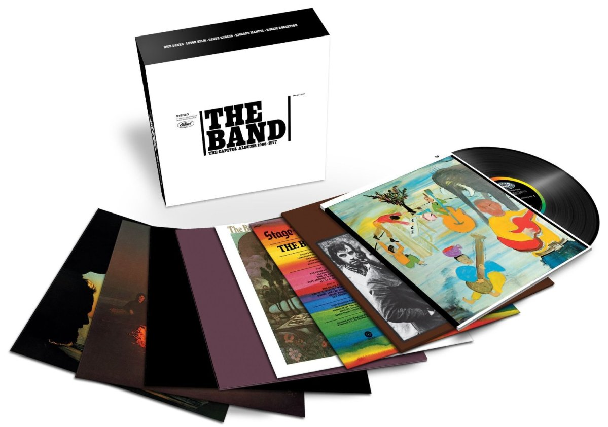 The Band Gets A Career Spanning Remastered Vinyl Box Set