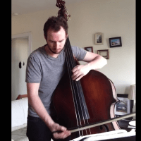 "Alex Spradling: John Coltrane's ""Countdown"" Solo on Double Bass"