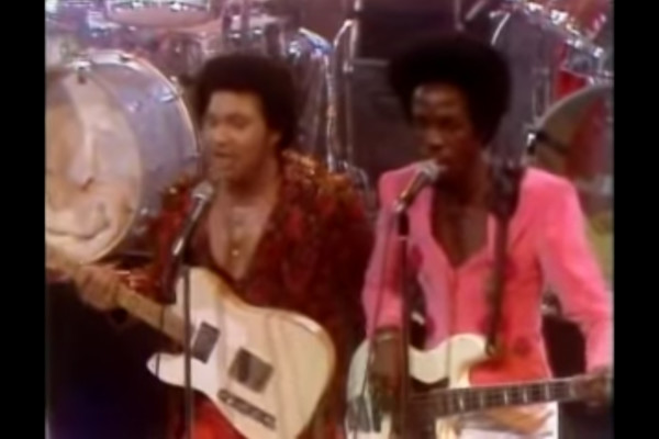 Earth, Wind, and Fire: Shining Star, Live 1975