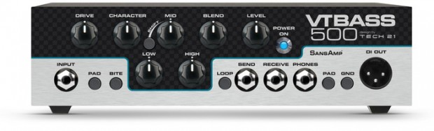 Tech 21 VT Bass 500 Bass Amp Head