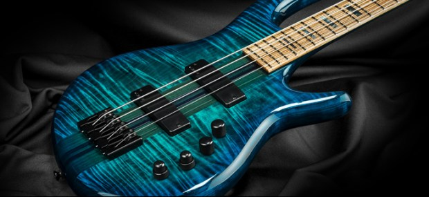 Kiesel Carvin Guitars Icon 2.0 4-string Bass Body Closeup