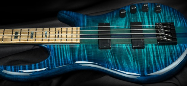 Kiesel Carvin Guitars Icon 2.0 4-string Bass Body Side Closeup