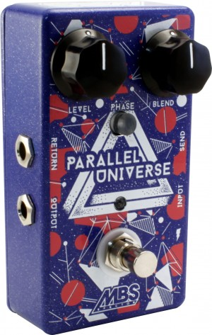 MBS Effects Parallel Universe Bass Blender Pedal