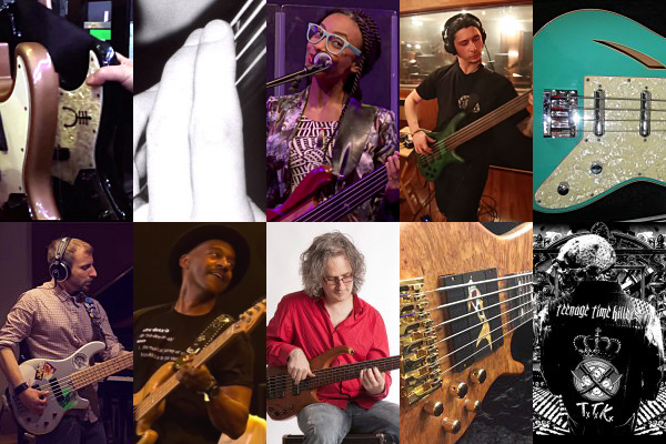 Weekly Top 10: Geddy Lee's Rig Rundown, Left-Hand Exercises, Podcast Discussion with Steve Lawson, Plus New Gear and Top Videos
