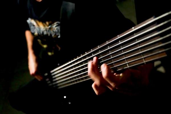 "Mike Poggione: Bass Playthrough of Doomsilla's ""Redlight Executioner"""