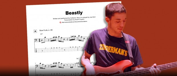 Vulfpeck Beastly Bass Transcription