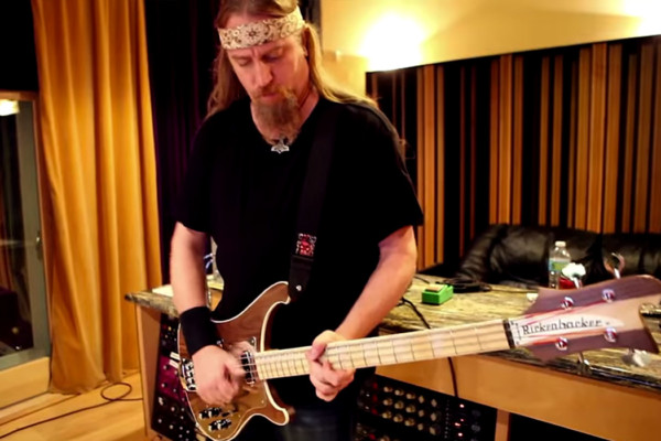 "Steve Di Giorgio: Bass Playthrough of Christos Nikolaou's ""Calling"""