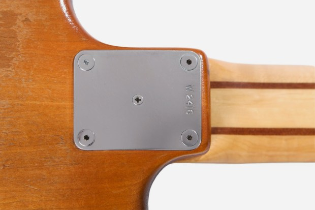 Colin Edwin Wal Mk 1 Fretless Neck Plate