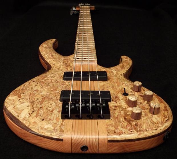 Lea Bass Guitars Dumpster Bass Long View